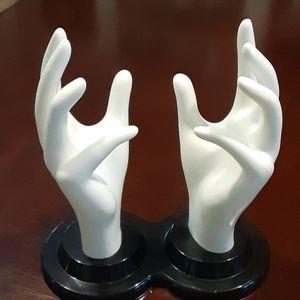 Hand display form